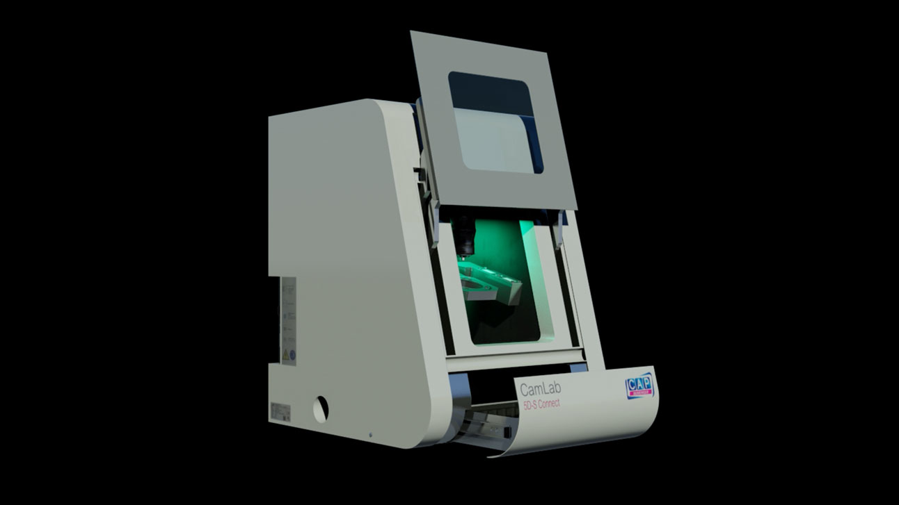 Stand-Design-CAP-Dental-Forum-Hologram