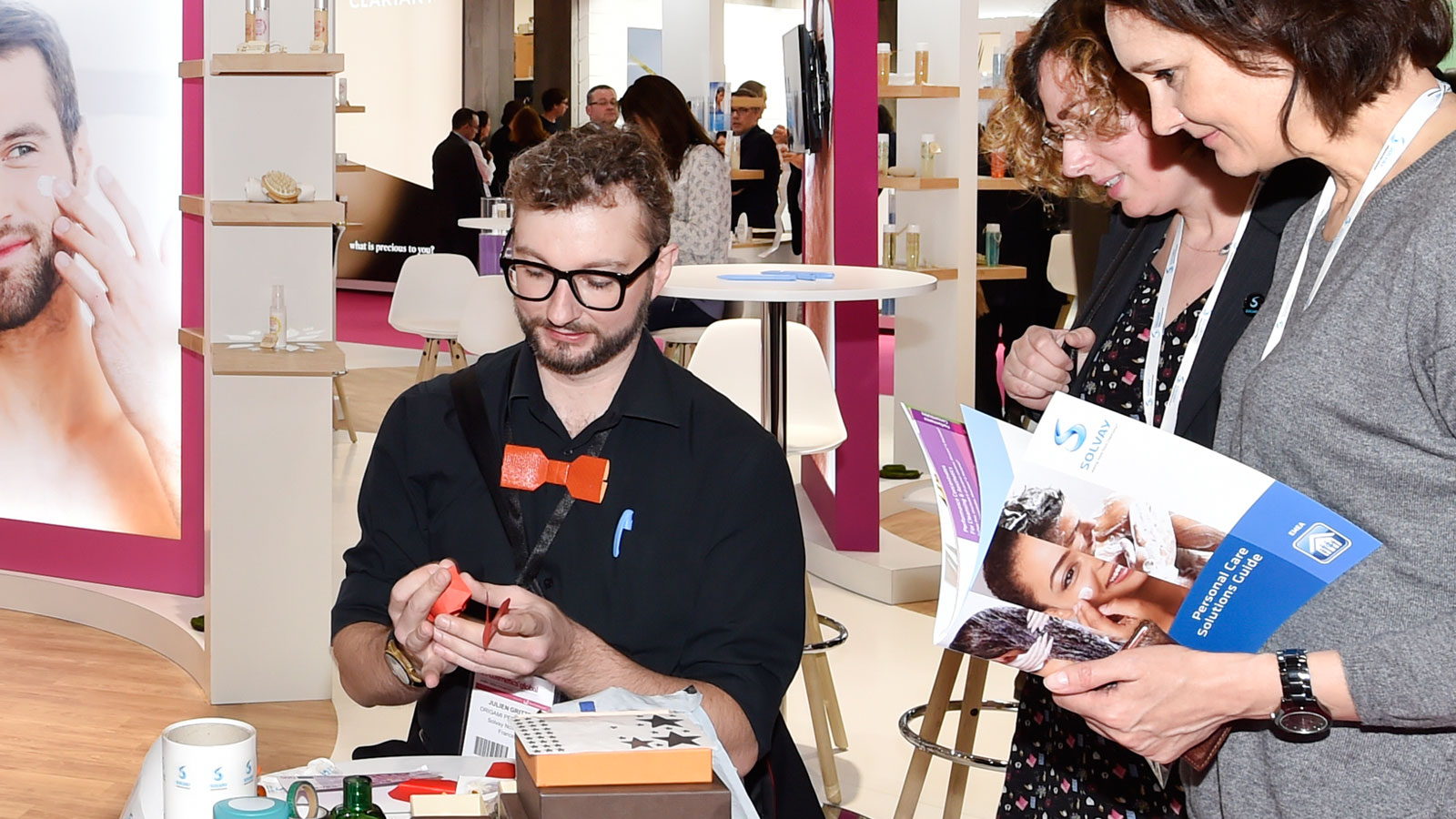 Stand-Design-Solvay-Novecare-InCosmetics-Origami-Performer