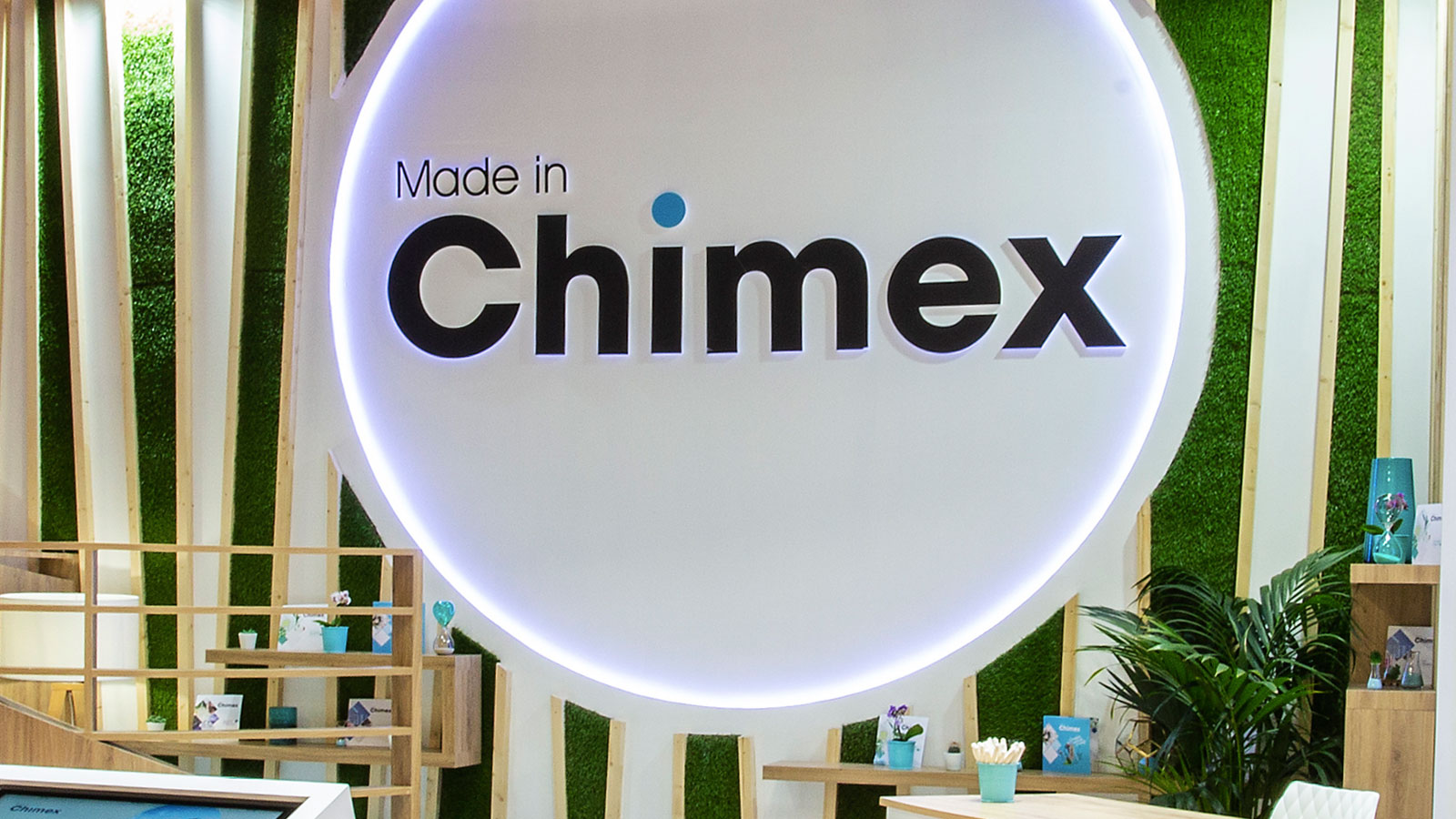 Stand-Design-Chimex-Incosmetics-Logo-3D
