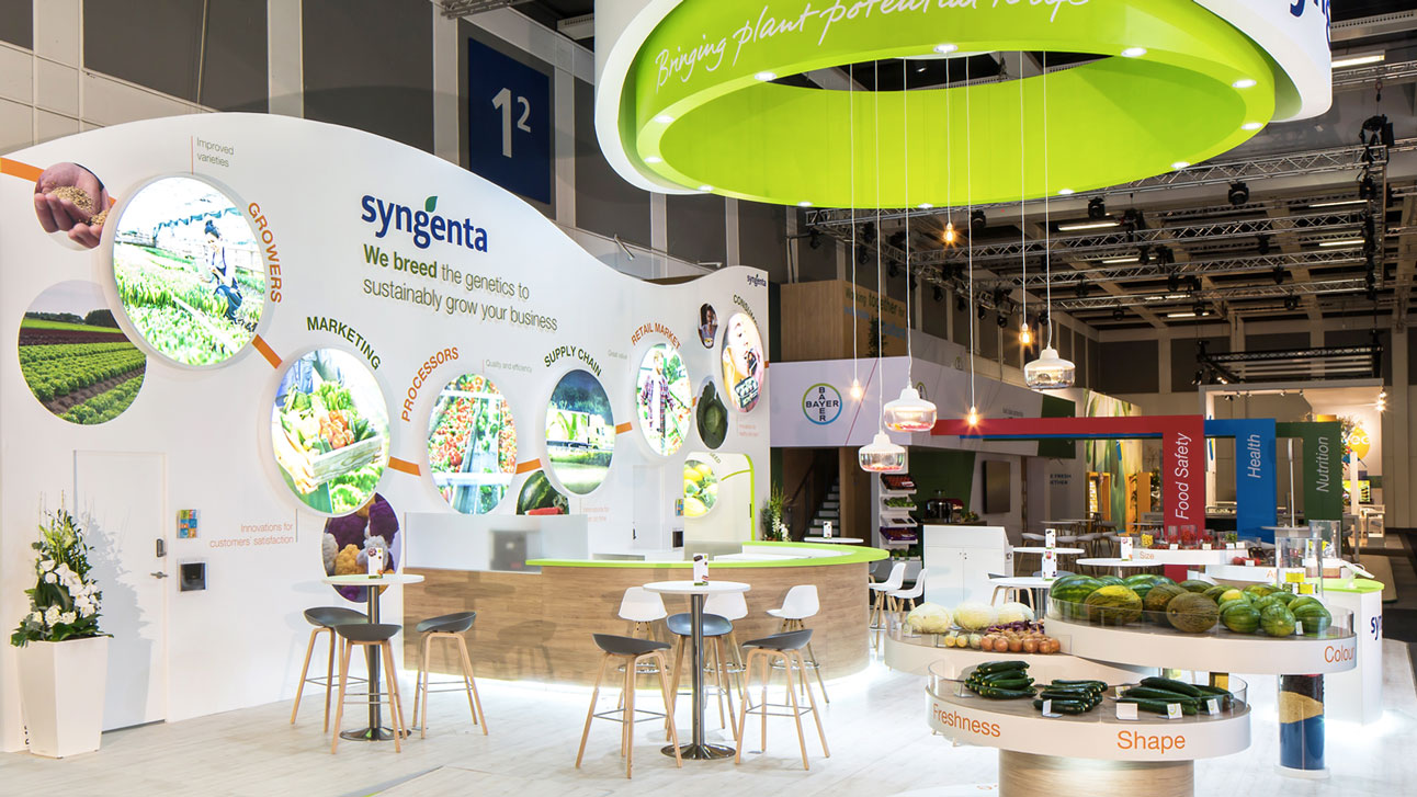 Stand-Design-Syngenta-Fruit-Logistica-Wave-Shaped