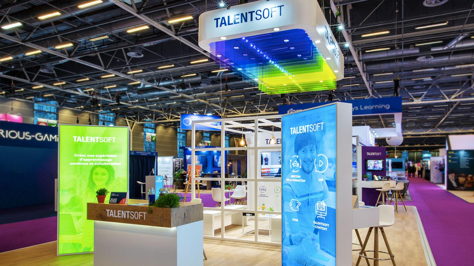 Stand-Design-Talentsoft-LearningTechnologies-Branding